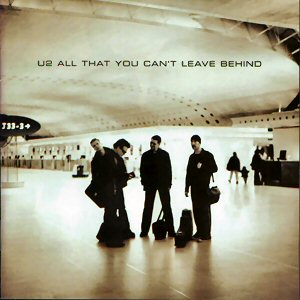 U2 - All that you can't leave behind - Cover
