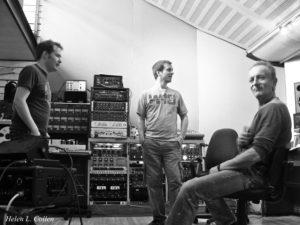 Playback admiration, Z-Noise Studios, London.